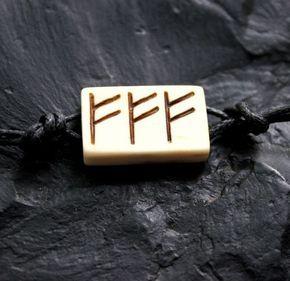 Руна феху, нанесённая трижды - самая действенная формула для привлечения достатка