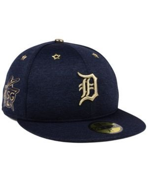 New Era Detroit Tigers 2017 All Star Game Patch 59FIFTY Cap - Blue 7 5/8