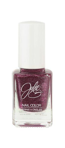 Jesse's Girl Julie G Crushed Candy Nail Polish. Click through to see more! #beauty #makeup #crueltyfree #nailpolish