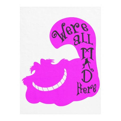 We're all mad here blanket