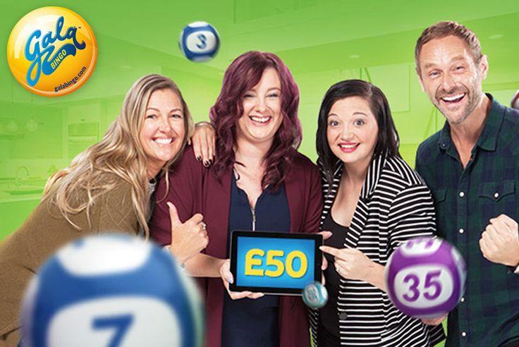 £2 for £45 Gala Bingo Credit
