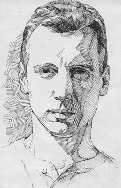 drawing portraits with ink - Google Search