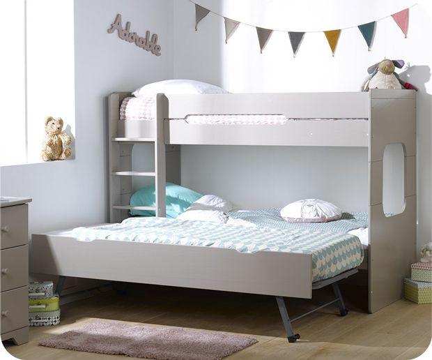 las 25 mejores ideas sobre camas literas dobles en pinterest literas de cuatro dormitorios. Black Bedroom Furniture Sets. Home Design Ideas