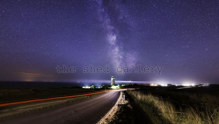 The 2 Lighthouses - Photography by Ollie Taylor - The Shed Gallery
