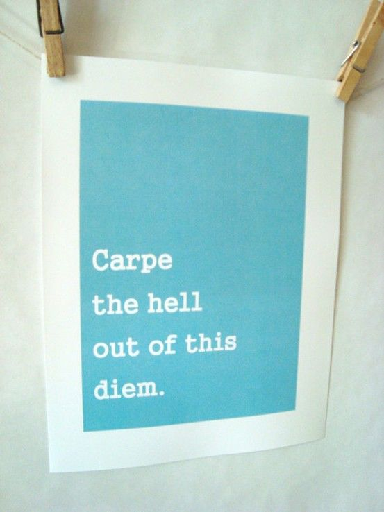 .: Hell Yeah, Bathroom Mirrors, Inspiration, Quotes, Well Said, Carpe Diem, Seize The Days, Carpediem