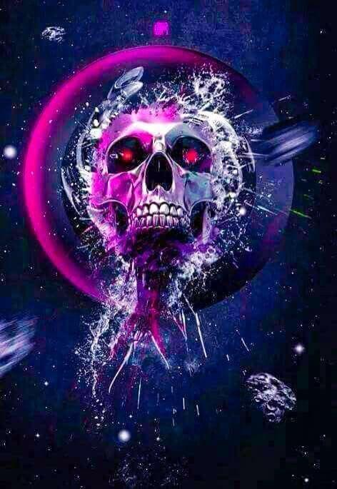 Skull Samsung Galaxy Wallpaper