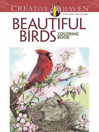 Fishpond Australia Creative Haven Beautiful Birds Coloring Book By Dot Barlowe Buy Books Online