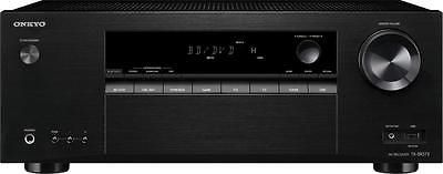 Home Theater Receivers: Onkyo - Tx 5.2-Ch. 4K Ultra Hd And 3D Pass-Through Hdr Compatible A V Home Th... -> BUY IT NOW ONLY: $199.99 on eBay!
