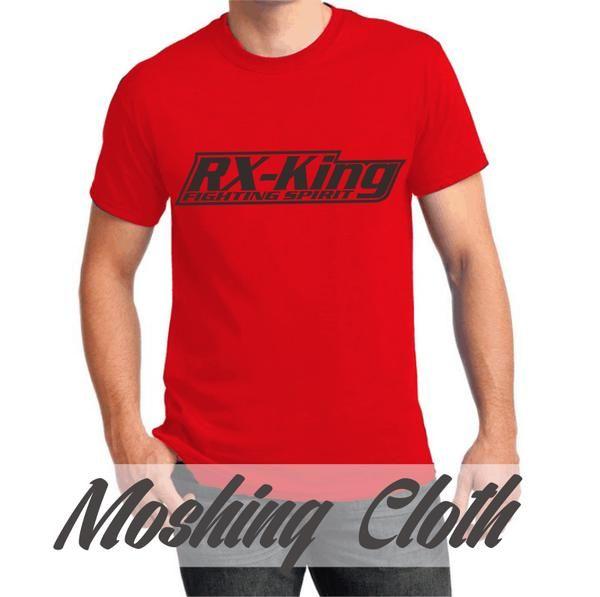 Kaos Yamaha RX King #1 Merah #Moshingcloth (kaos distro, kaos motor)