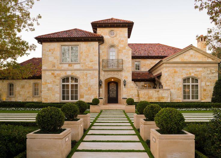 100 Best Mediterranean Tuscan Homes Exterior Edition