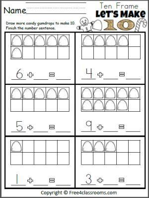 1000+ ideas about Addition Worksheets For Kindergarten on Pinterest