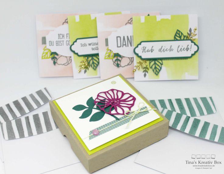 Karten Set Grüße wie gemalt