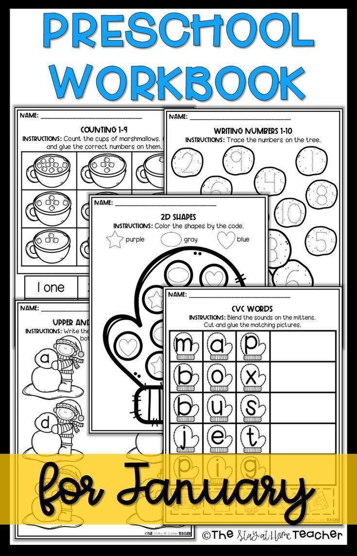 Winter Preschool Worksheet Packet January Preschool Winter Worksheets Preschool Worksheets Preschool Workbooks [ 1144 x 735 Pixel ]