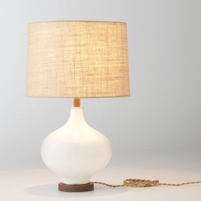Lafayette table lamp fabric shade schoolhouse electric supply