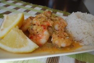 Thermomix Garlic Prawns. Can't wait to try this!!