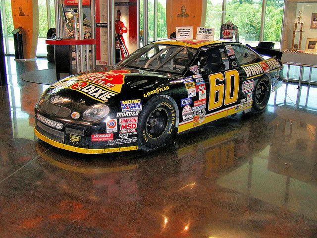 Mark Martin's Winn Dixie Busch car