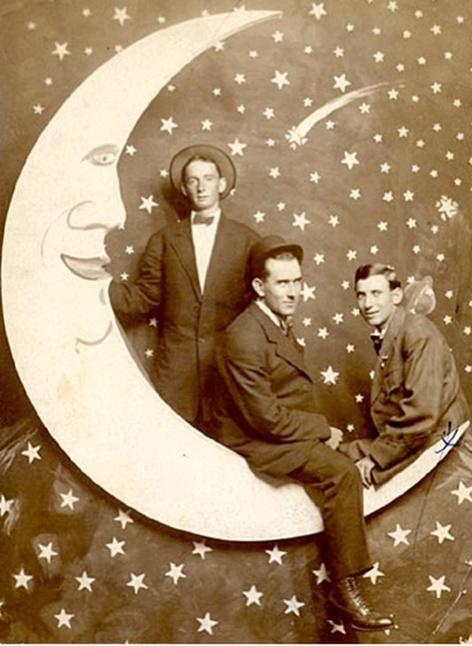 paper moon.... three men