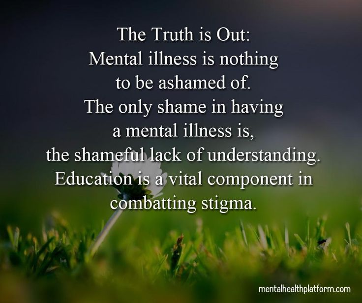 Top 11 Myths about mental illness