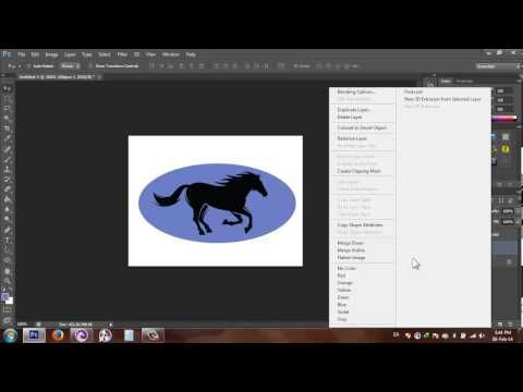 how to cut out a shape in photoshop cs6