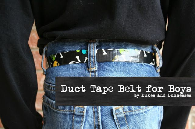 Looks like a fun project for scouts. It's hard to go wrong with duct tape.