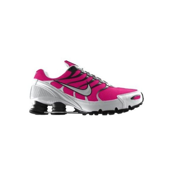 Nike Shox Turbo+ VI iD Custom Women\u0026#39;s Running Shoes - Pink, 13, found on