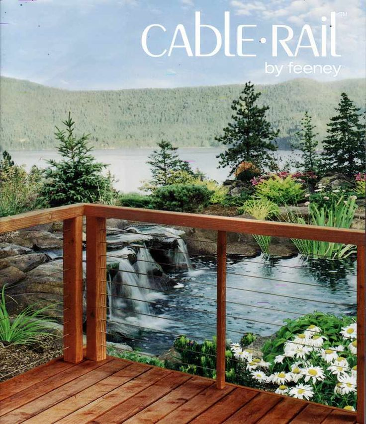 Check out http://cablerailmn.com!  Cable Rail Cable Railing by Feeney stainless steel cable railing for decks and lofts. Design, Installation and Sales. For Contractors or Do it Yourself.  Contractor Discounts Available. Almost Invisible Railing to Enhance your beautiful view.