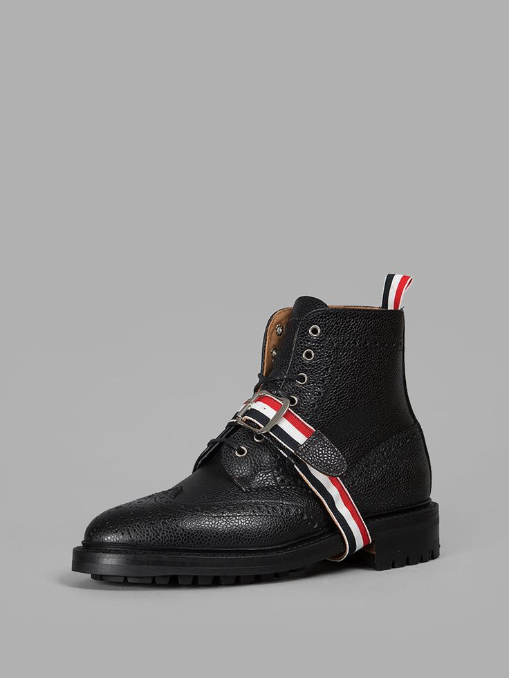 Image of THOM BROWNE BOOTS