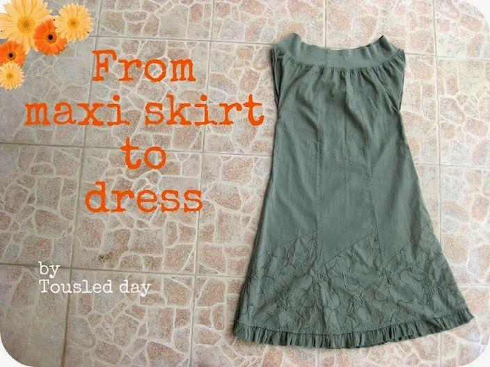 Refashion dress tutorials