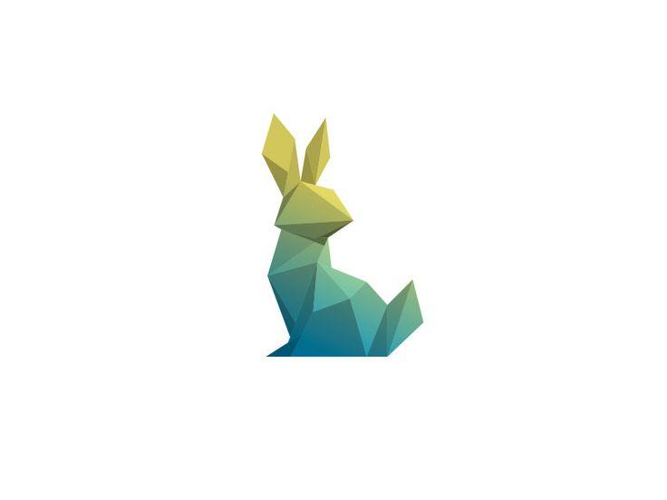 Low Polygon Logo Designs: 45 Amazing Animal Logos|iBrandStudio