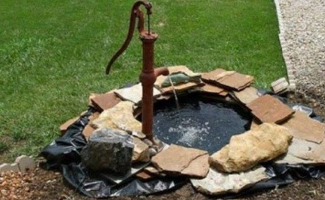 If you can get your hands on a Tractor Tyre, be sure to check out this fantastic project and make your own Fish Pond.