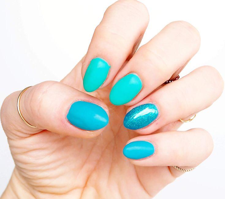 Lakiery hybrydowe SEMILAC, inspiracja na wiosnę http://deliciousbeauty.pl/nail/ Pomysł na pocżątek wiosny z Semilac