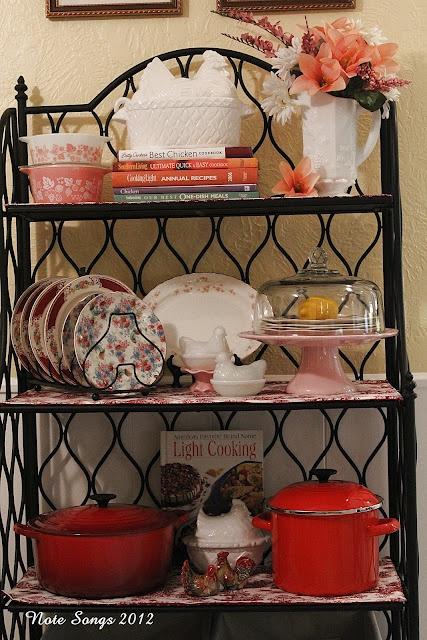 Cute Baker's Rack