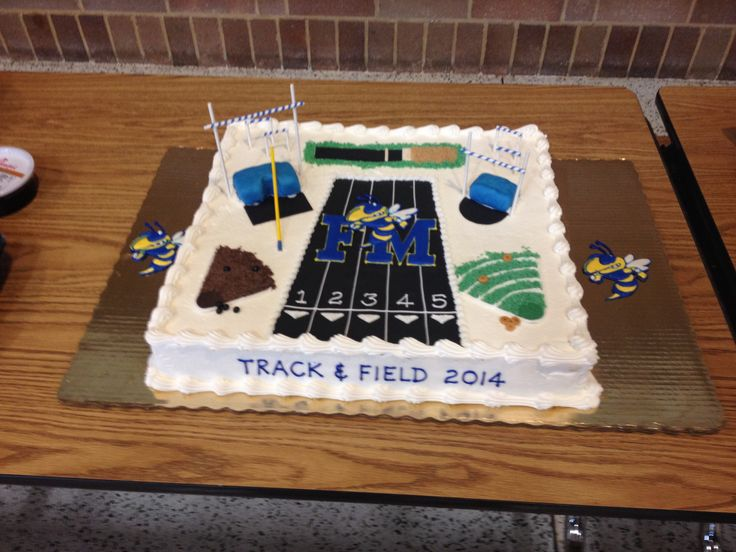 Track And Field Cake Track Pinterest Track Cakes