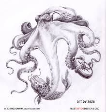 octopus tattoo placement - Google Search
