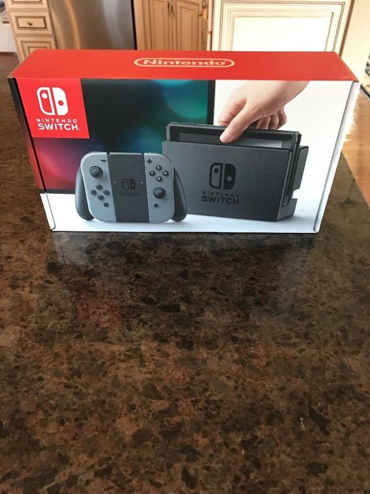 Nintendo Switch - 32GB Gray Console (with Gray Joy-Con) #Nintendo