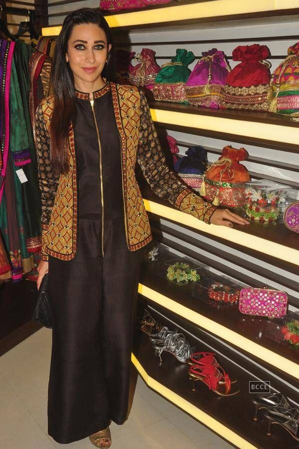 Karisma @ designer store launch- The Times of India Photogallery