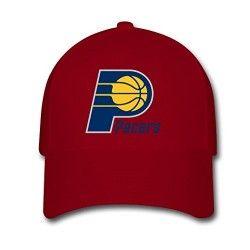 RedWoman Men Cotton 2016 NBA Indiana Pacers Logo Adjustable hats Baseball caps