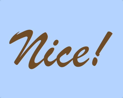 Nice!: Style, Nice