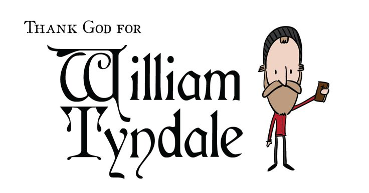 """Lord, open the king of England's eyes!"" -- William Tyndale's prayer before he was put to death. He was killed 479 years ago today for translating the Bible into English. Tyndale's translation was the first English Bible to draw directly from Hebrew and Greek texts, the first English one to take advantage of the printing press, and first of the new English Bibles of the Reformation - wikipedia"