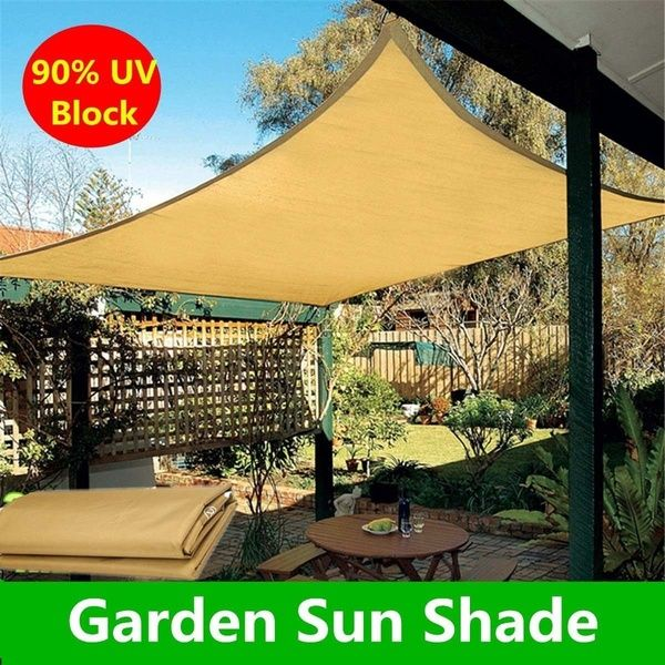 Outdoor Sun Sail Shade Garden Plant Cover Cover Canopy Awning Waterproof Shelter Uv Bi Camping Beach Tools Size 200 140cm Pool Shade Shade Sail Patio Shade