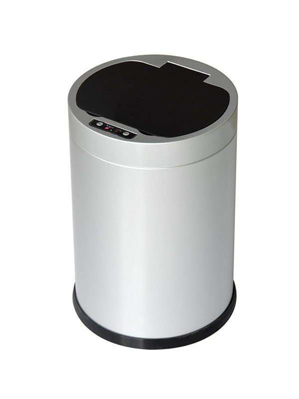 intelligent induction trash bin product features fully enclosed rh pinterest com