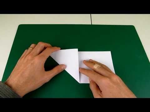 Video 1: Cut a Pentagon from a Square (origami trick ...