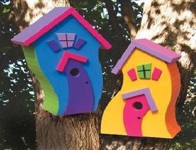 Stylowe domki dla ptaków: top 10 najlepszych budowli