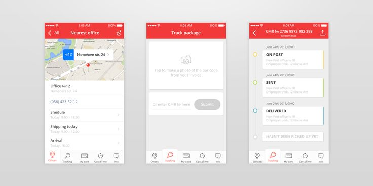 Delivery app concept – App by Anna http://www.uplabs.com/posts/delivery-app-concept-prototype-made-in-pixate