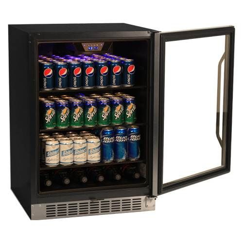 EdgeStar 148 Can Stainless Steel Beverage Cooler Secondary Image