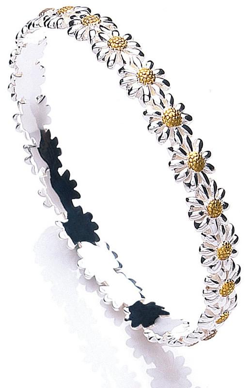 Skinny Bangle by Daisy Jewellery - Bora Bora ~ daisies just make me happy!