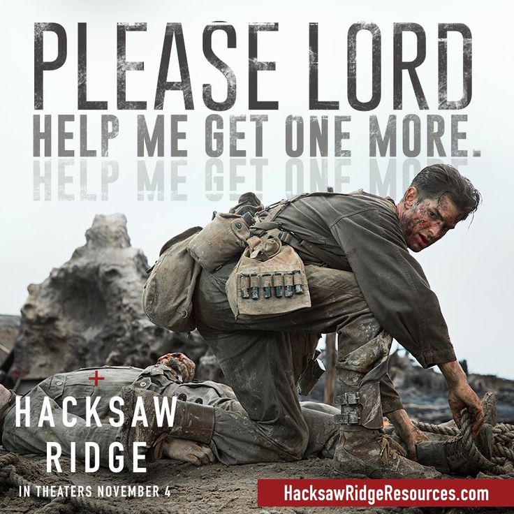 Film 13 - Hacksaw Ridge. I love a true story. Combine it with the actual veterans crying at the end and I am gone. Great film.