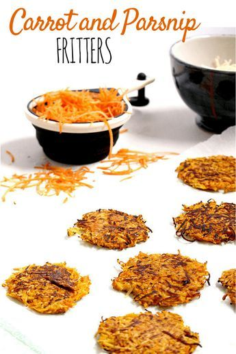 Carrot and Parsnip Fritters | Recipe | Baby food recipes ...
