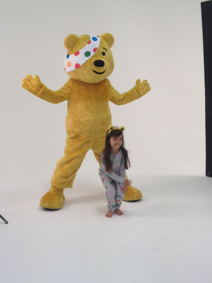 A sneak peek into our Children in Need shoot!