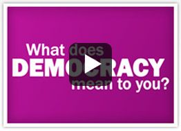 Democracy Video (Government Unit Plan) and lots of interactive games about democracy